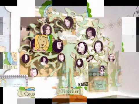 Amazing Family Tree Craft Ideas Youtube