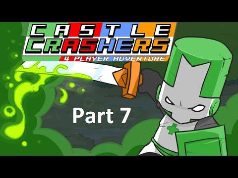Castle Crashers [Part 7] - Medusa's Lair, Snow World, Ice Castle (Green Knight)