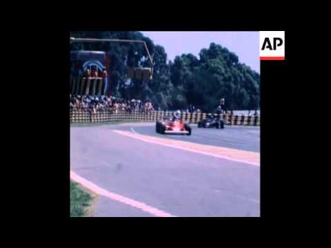 SYND 17 1 78 HIGHLIGHTS OF ARGENTINE GRAND PRIX IN BUENOS AIRES