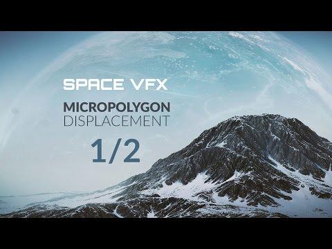 Blender Tutorial: Micropolygon Displacement Basics Part 1/2