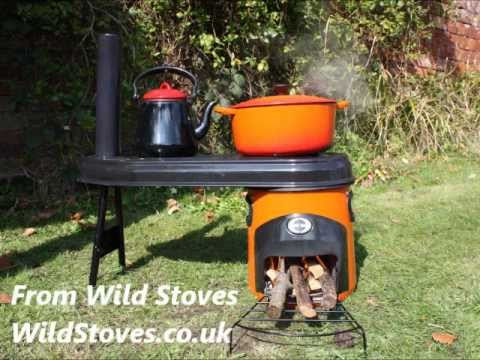G3 Rocket Eco Camp Stove From Wild Stoves Youtube