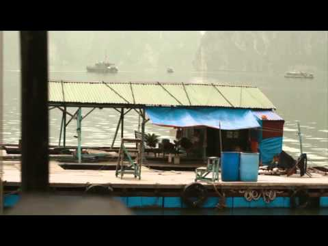 Junk cruising in Halong Bay with Peregrine