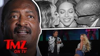 Beyonce's Dad Surprised The Crap Out Of Her! | TMZ TV