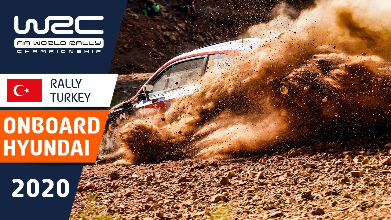 WRC - Rally Turkey 2020: Onboard compilation HYUNDAI