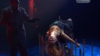 Падение девушки на кол - Человек в маске - Тайны великих магов - Разоблачение фокусов