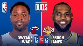 Historic Final Duel in LA: LeBron vs Wade   December 10, 2018