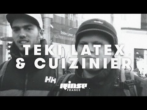 Teki Latex & Cuizinier (live) - Rinse France