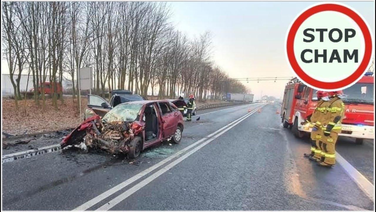 Wypadek na DK92 - czołówka Forda i Porsche  #580 Wasze Filmy