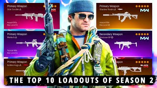 The NEW TOP 10 BËST LOADOUTS to Use in Season 2 (Warzone Best Classes Season 2)