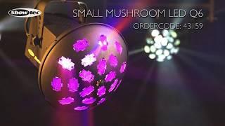 Showtec Small Mushroom LED Q6. Ordercode: 43159.