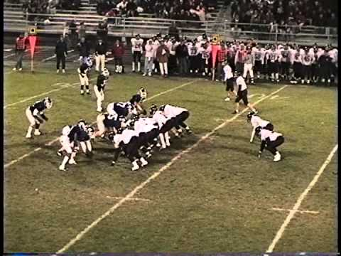 1996.11.6 1st Half Ames High at Roosevelt High School 4A Iowa Football Playoffs 1996
