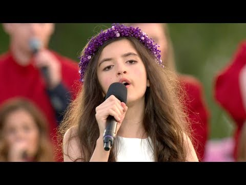 11-Year-Old Girl Singing