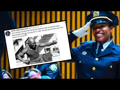 Black History Tweet Makes Cops FURIOUS