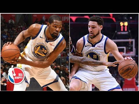 Kevin Durant, Klay Thompson put on offensive clinic in Warriors' Game 4 win | NBA Highlights