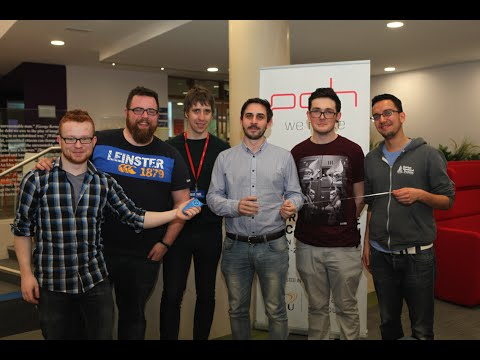 Bluetooth measuring tape wins Dublin PCH Hackathon