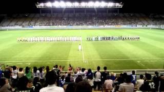 試合終了後、松田真紀さん、安永聡太郎さんからご挨拶を頂きました。