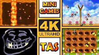 Minigame TAS Compilation 4K   NSMB DS
