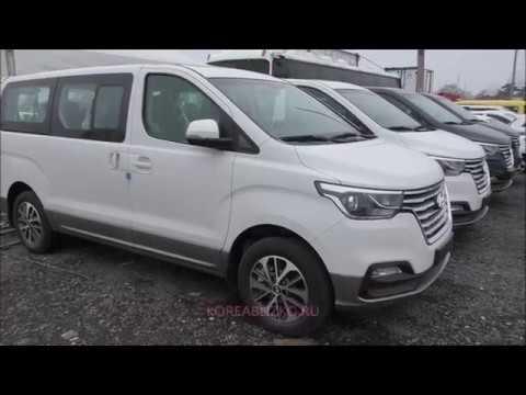 Белый Grand Starex Urban Exclusive 4WD 2019 напрямую из Кореи