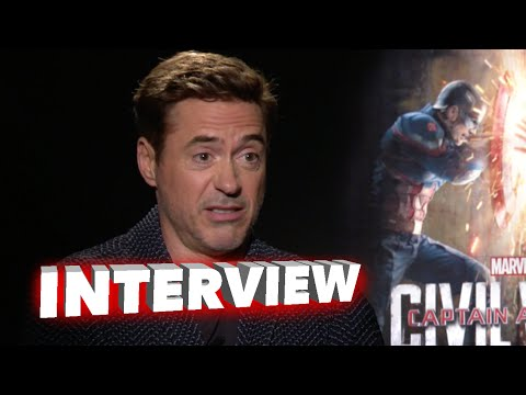 Captain America: Civil War: Robert Downey Jr. 'Iron Man' Official Movie Interview