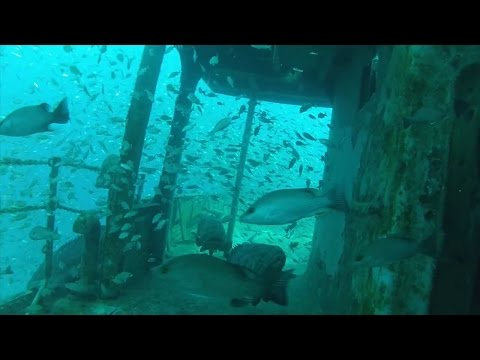 Recreating an Artificial Reef of the USS Mohawk