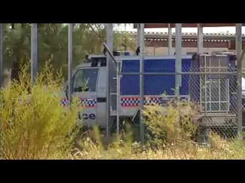 Man Shot By Police - Sandover Highway, Northern Territory (2010)