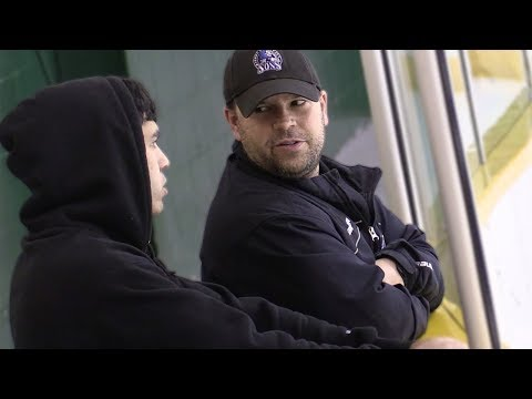 Chirping Hockey Dads Prank!  KICKED OUT OF THE ARENA
