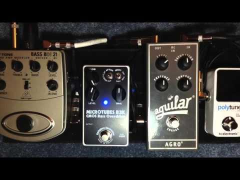 Darkglass B3k VS Aguilar Agro - Bass Drive Comparison