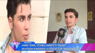 Magazin 8 Tv8 Aziz Kiraz roportaj 2016 EFSO