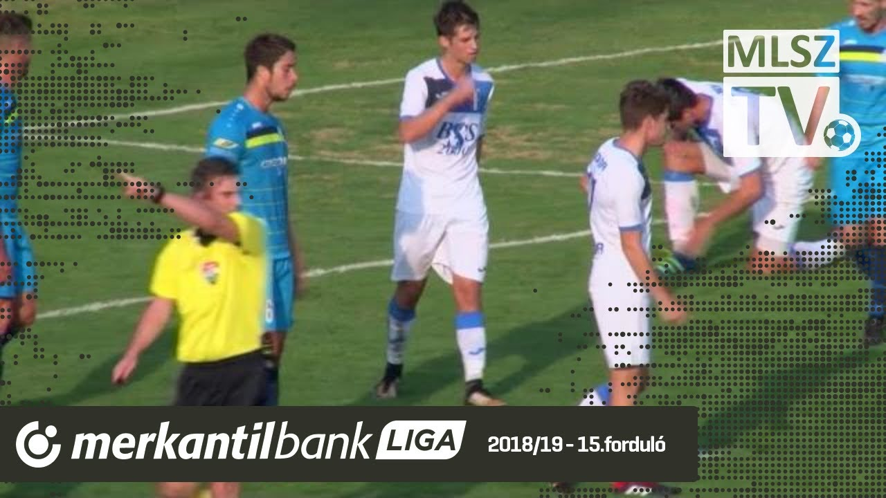 Credobus Mosonmagyaróvár - BSS Monor | 0-2 (0-2) | Merkantil Bank Liga NB II.| 15. forduló |