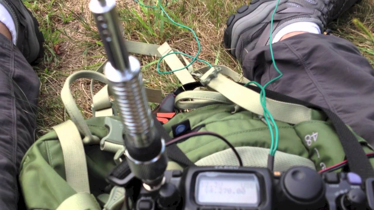 Bad Ass Icom Ah 703 5 Band Antenna Great Qrp Mil Spec