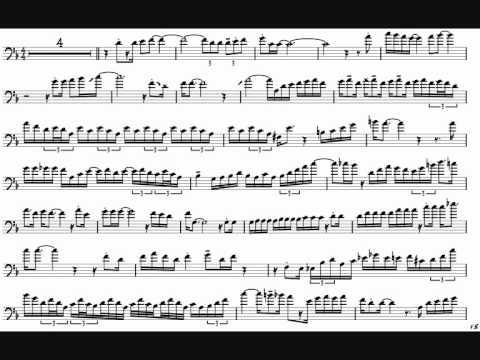 Frank Rosolino 'Embraceable You' Trombone Solo Transcription