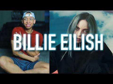 Billie Eilish - bad guy   & bury a friend  on Jimmy Kimmel  REACTION & REVEIW