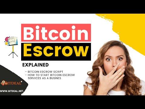 Bitcoin Escrow Script | How Bitcoin Escrow Works