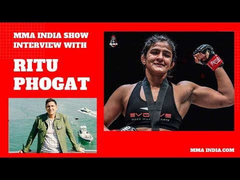 Ritu Phogat interview with Parvin Dabas | The MMA India Show