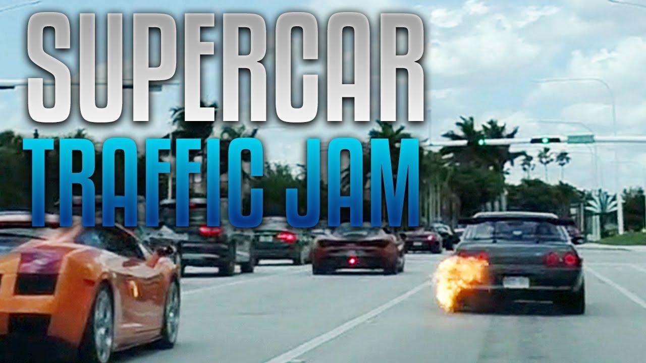 The Bm Crazy Supercar Traffic Jam Vlog 120 Youtube