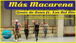 Mas Macarena - Gente de Zona ft. Los Del Rio (easy fitness dance)