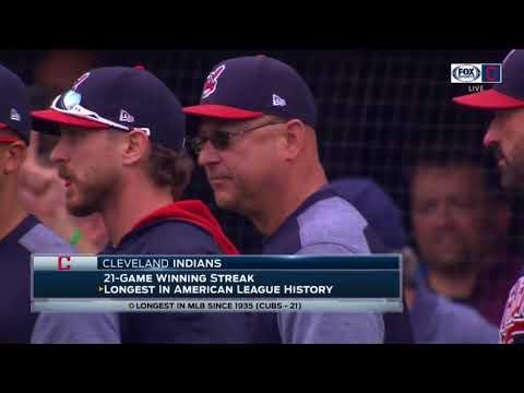 Cleveland Rocks: Progressive Field erupts in celebration after Indians make AL History