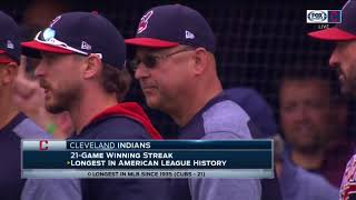 Cleveland Rocks: Progressive Field erupts in celebration after Indians make AL History