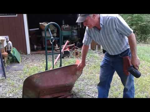 Wheel have a barrow of fun!  The backstory of my Gravely power barrow.