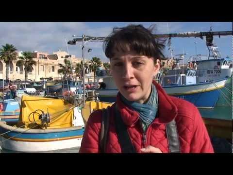 Marsaxlokk port & market - Maltese cuisine (Traveline in Malta)