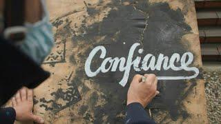 Zuversicht in der Pandemie: Wie Pariser Künstler zu mehr Optimismus beitragen