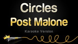 Gambar cover Post Malone - Circles (Karaoke Version)