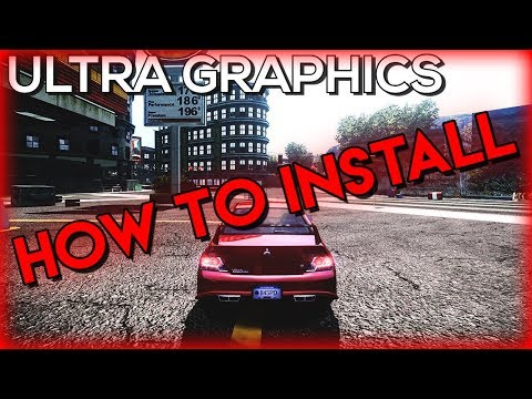 NFS MOST WANTED - ULTRA GRAPHICS MOD HD - Install Tutorial