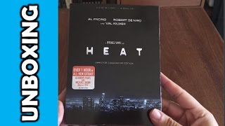 Heat (Director's Definitive Edition) Blu Ray Unboxing!