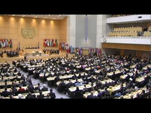 Opening 99th Session of the International Labour Conference