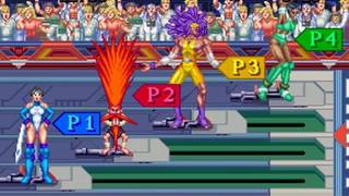 Mach Breakers - Numan Athletics 2 (Namco 1995)  Attract Mode 60fps