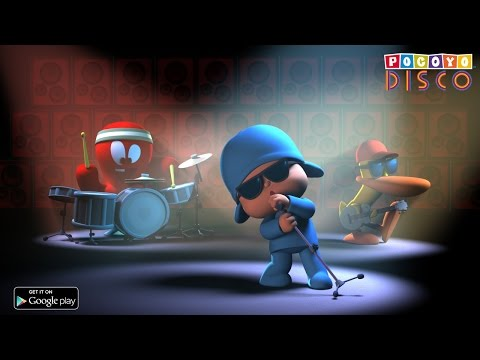 Pocoyo Disco [Android, iOS] - Make your own music videos with Pocoyo