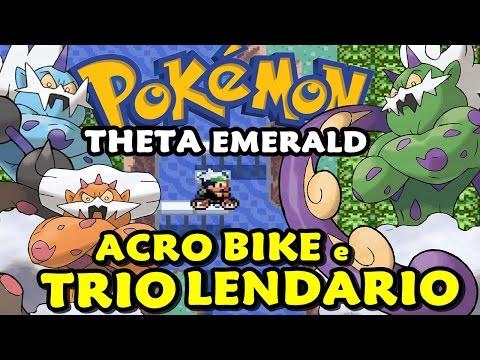 Pokémon Theta Emerald (Detonado - Parte 45) - Como Usar Acrobike: Tornadus, Thundurus e Landorus