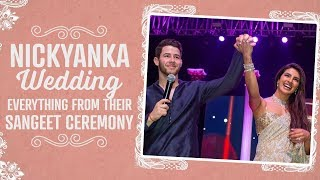 Priyanka Chopra & Nick Jonas Wedding: Everything from their Sangeet ceremony at Umaid Bhawan