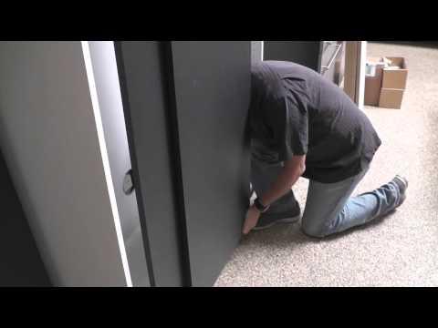 Organizers Direct NX Sliding Doors Installation Part 3 - Installing Doors